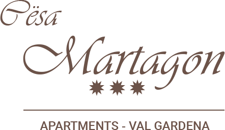 Logo Cësa Martagon Apartments in Ortisei in Val Gardena